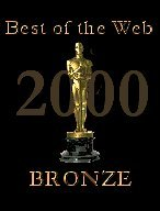 Best of Web Bronze award